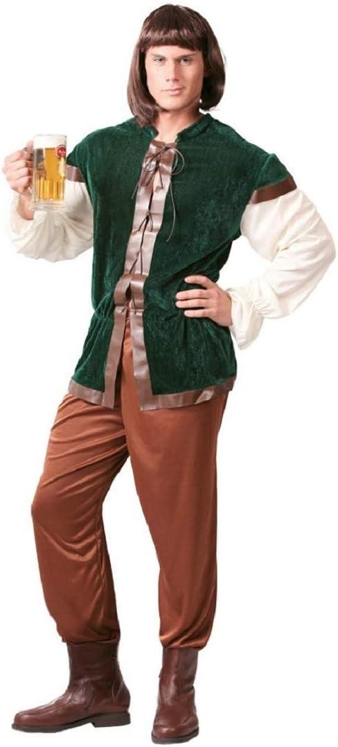 Fancy Me para Hombre Posadero Medieval casero Terciopelo Robin ...