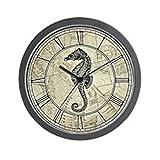 CafePress – Seahorse – Unique Decorative 10″ Wall Clock Review