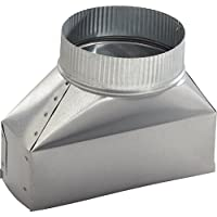 Broan 413 3-1/4 x 10 to 8 Round Duct Transition, NA