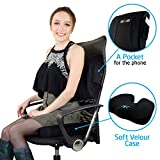 SOFTaCARE Seat Cushion Coccyx Orthopedic Memory