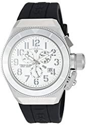 Swiss Legend Men's 'Trimix Diver' Swiss Quartz Stainless Steel Casual Watch (Model: 13844-02-SA-BLK)