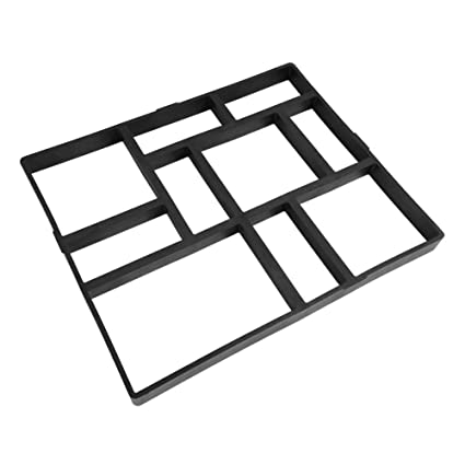 Yosoo Molde del Pavimento, Molde para Formar Piedras Manualmente para Pavimento de Cemento Ladrillo,