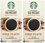 Starbucks Via Coffee Pike Place Roast 100% ARABICA 50 Packets