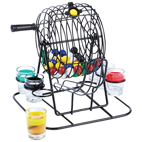 Maxam SPLOT Lottery-Style Drinking Game (55 Piece) (Shot Glass Fan)