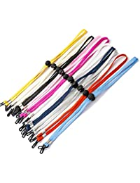 10 Pack Adjustable Length Face Mask Lanyard Chain Strap Holder for Women Kids Holder Comfortable Around The Neck