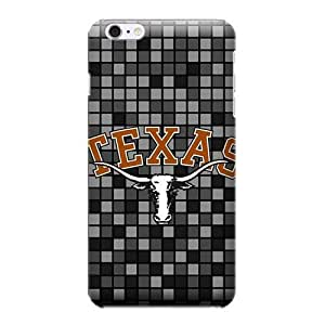 iPhone 6 Cases, Schools - Texas Longhorns Checkered - iPhone 6 Cases - High Quality PC Case