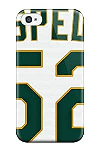 Fashionable KeXeoyP15804HYXxr Iphone 4/4s Case Cover For Oakland Athletics Protective Case