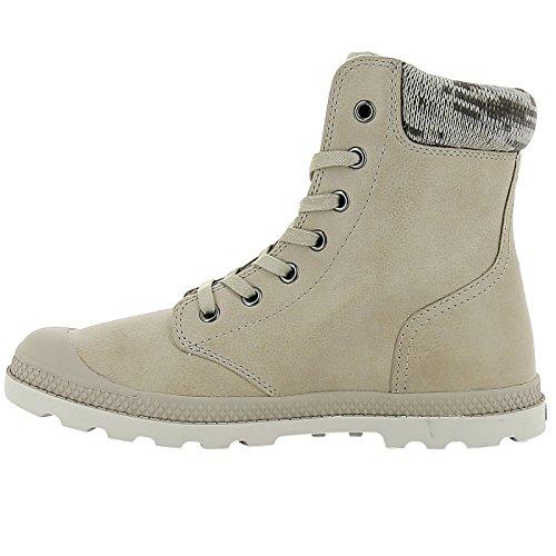 Damen Palladio Pampa Maglia Lp F Hohe Sneaker Marrone (taupe / Moonbeam)