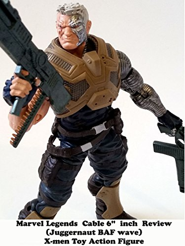 Marvel Cable Costumes (Review: Marvel Legends Cable 6