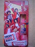 27 Disney HIGH SCHOOL MUSICAL 3 Senior High Lenticular Valentines