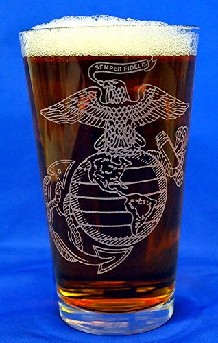 custom-etched-usmc-emblem-on-16-oz-pint-glass-set-of-4