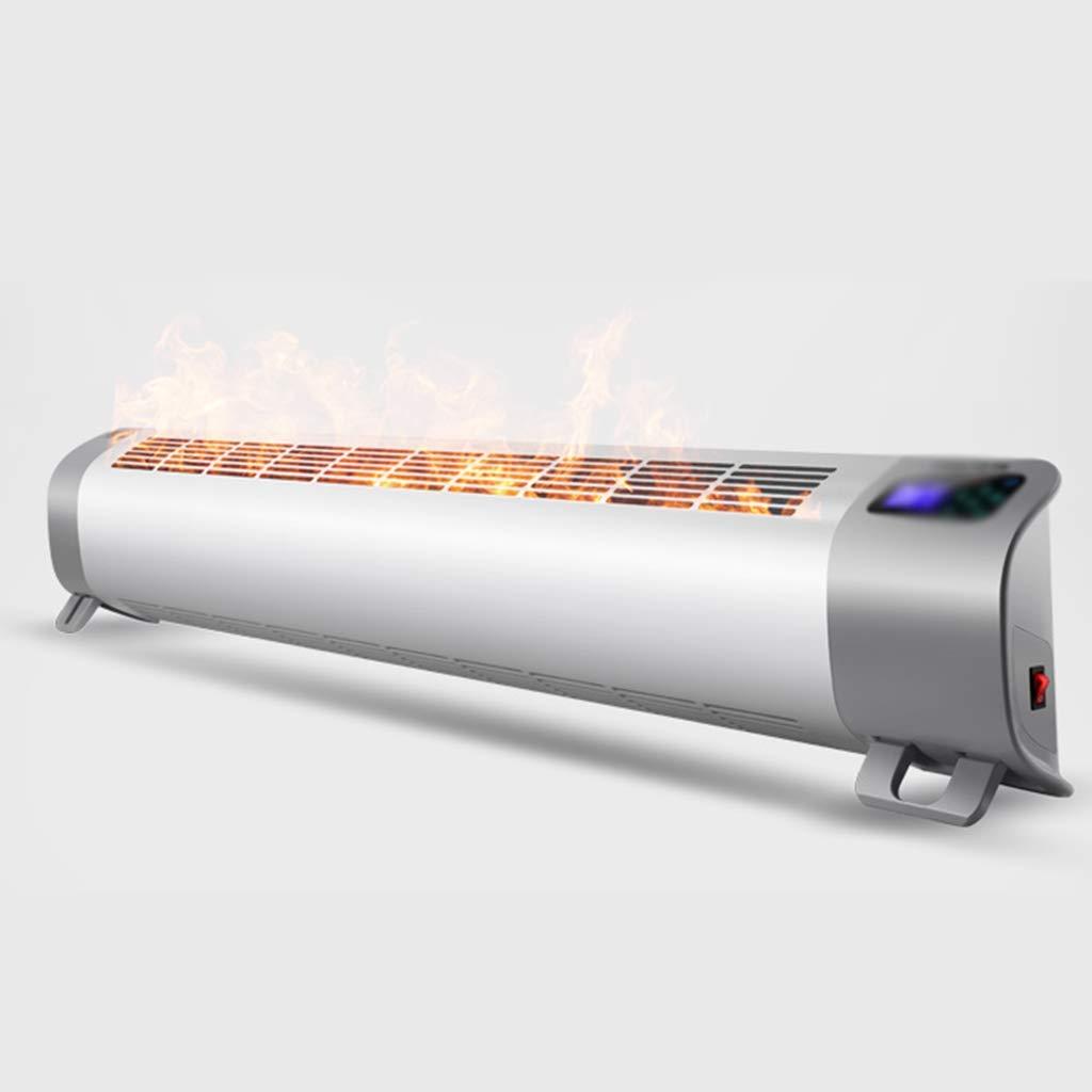Acquisto Riscaldatore, battiscopa per Uso Domestico, Riscaldamento per Il Bagno, Riscaldamento Elettrico, Risparmio energetico, Risparmio energetico, 1410 mm × 113 mm × 258 mm Bianco (Colore : Bianca) Prezzi offerte