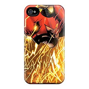 Flash Man Awesome High Quality Iphone 4/4s Case Skin