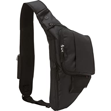 Amazon.com: Bellino Sling Backpack (Black): Office Products