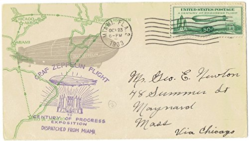 United States Airmail Stamp C-18 Flight Cover