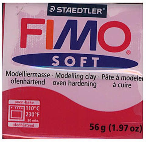 Fimo Soft Polymer Clay  4 packages