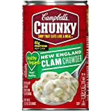 #7: Campbell's Chunky Healthy Request Soup, New England Clam Chowder, 18.8 Ounce (Packaging May Vary)