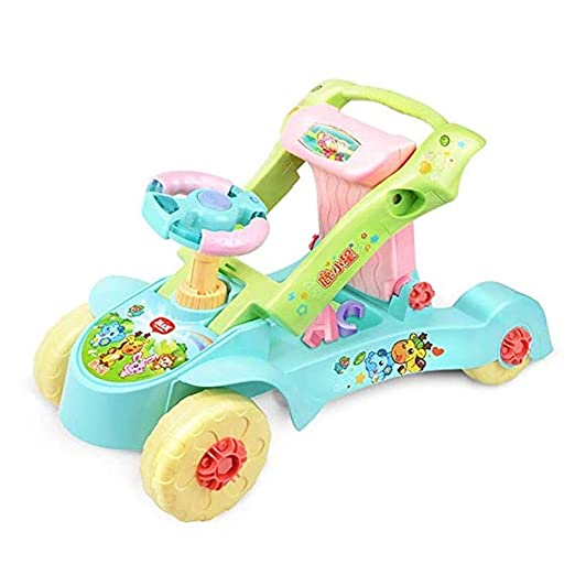 LMSTC Coche Twist For Niños, 2 En 1 Toddler Walker, Deformación ...