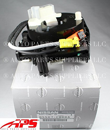 2007-2012 Nissan Murano Rogue Steering Column Clock Spring Switch Housing OE NEW B5567-CB66A
