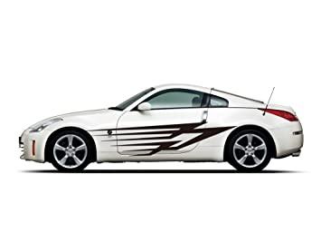 Amazoncom Picniva Sty Car Body Side Stripes Vinyl Graphics - Car side decals designpopular sport car graphicsbuy cheap sport car graphics lots from