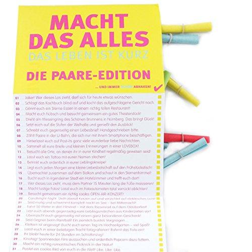 We Love Bunt 50 Lose Macht Das Alles Paar Edition Amazon De Spielzeug