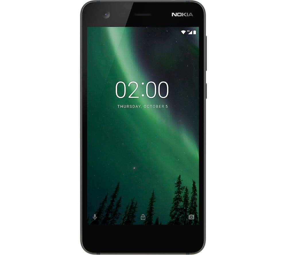 ffb6264b8 Nokia 2 UK SIM-Free Smartphone - Black  Amazon.co.uk  Electronics