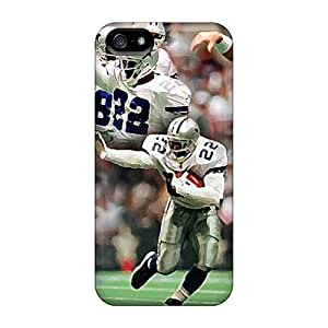 Shockproof Hard Cell-phone Case For Iphone 5/5s With Unique Design Fashion Dallas Cowboys Skin MansourMurray
