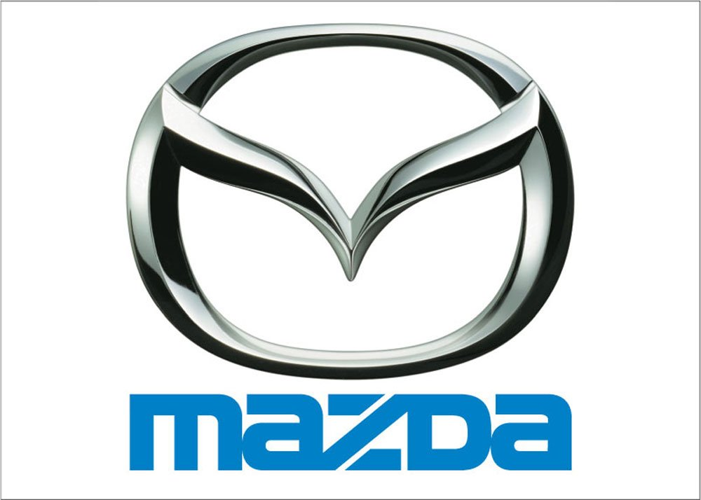 NEOPlex Mazda Auto Logo Words Traditional Flag F-1864