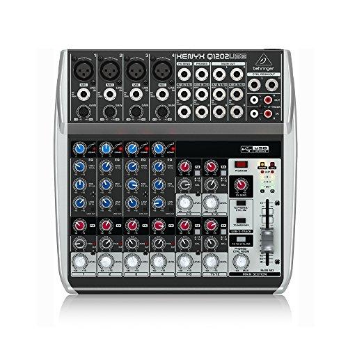 Behringer Xenyx Q1202USB 12 ingressi, 2-bus Analog Mixer