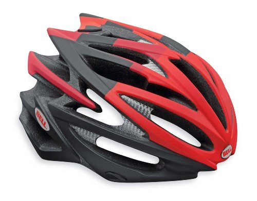 Bell Volt Racing Bicycle Helmet Matte Red/Black BMC Limited Edition Medium (55 - 59cm / 21.75 - 23.25'') by Bell