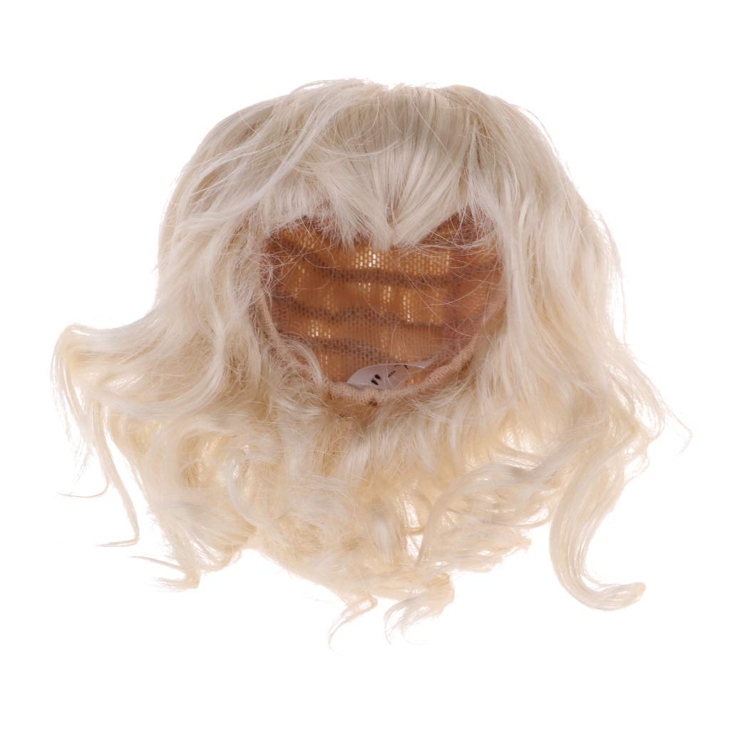 Strange B Baosity Sweet Diy Curly Hair Wig Neat Bangs Hairstyles For 1 6 Natural Hairstyles Runnerswayorg