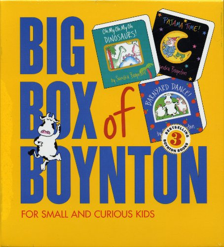 Big Box of Boynton Set 1!: Barnyard Dance! Pajama Time! Oh My Oh My Oh Dinosaurs! (Pajama Book)