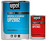 U-Pol 2882 FAST KIT U-POL Overall Clear URETHANE CLEARCOAT UNIVERSAL CLEAR 4:1 FAST KIT EUROPEAN STYLE CLEARCOAT w/NANOPARTICULATE TECHNOLOGY