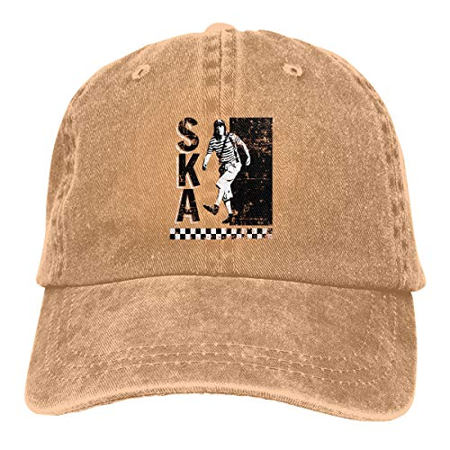 MC-BAO Ska El Chavo Del Ocho Everyday Unisex Cotton Dad Hat Baseball Adjustable Ball Cap (El Chavo Del Ocho Costume Hat)