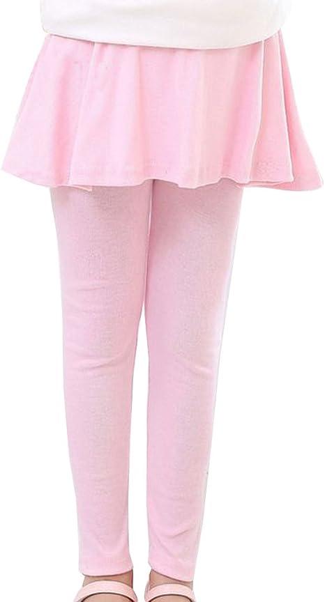 Elástico Leggings Pantalones con Falda De Niñas Falda Guapa De ...