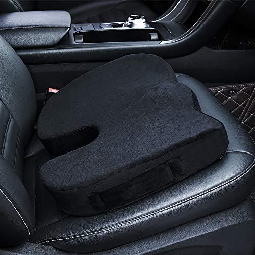 Memory Foam Seat Cushion for Car Office Chair Wheelchair Coccyx Back Pain Rrelief Car Seat Cushion