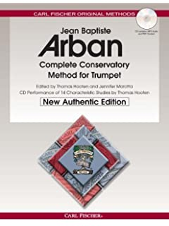 Arbans complete conservatory method for trumpet cornet or eb o21x arban complete conservatory method for trumpet new authentic edition with accompaniment and performance fandeluxe Image collections