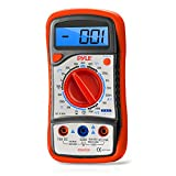 Pyle-Meters PDMT29 Digital LCD Multimeter, AC, DC, Volt, Current, Resistance, Range with Rubber Case and Stand (Discontinued by Manufacturer)