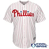 Philadelphia Phillies Word Mark White Youth Cool Base Home Replica Jersey