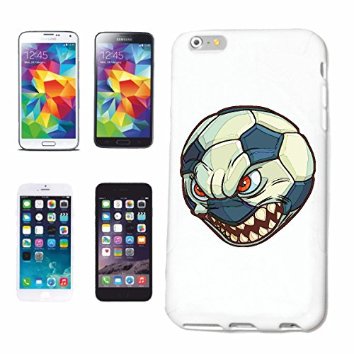 "cas de téléphone Samsung Galaxy S6 edge ""FURIOUS FOOTBALL SOURIANT ""smile EMOTICON APP de SMILEYS SMILIES ANDROID IPHONE EMOTICONS IOS"" Hard Case Cover Téléphone Covers Smart Cover pour Samsung Galaxy"