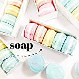 Rainbow French Macaron Soap Boxed Gift Set. Birthday Gift for Her. Mothers Day