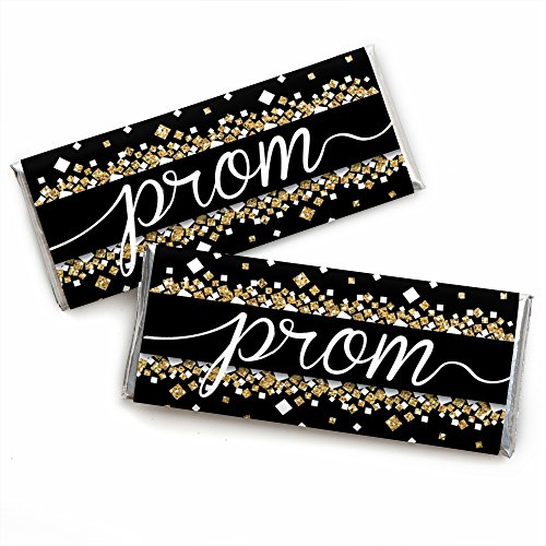 Prom - Candy Bar Wrapper Prom Night Party Favors - Set of 24]()