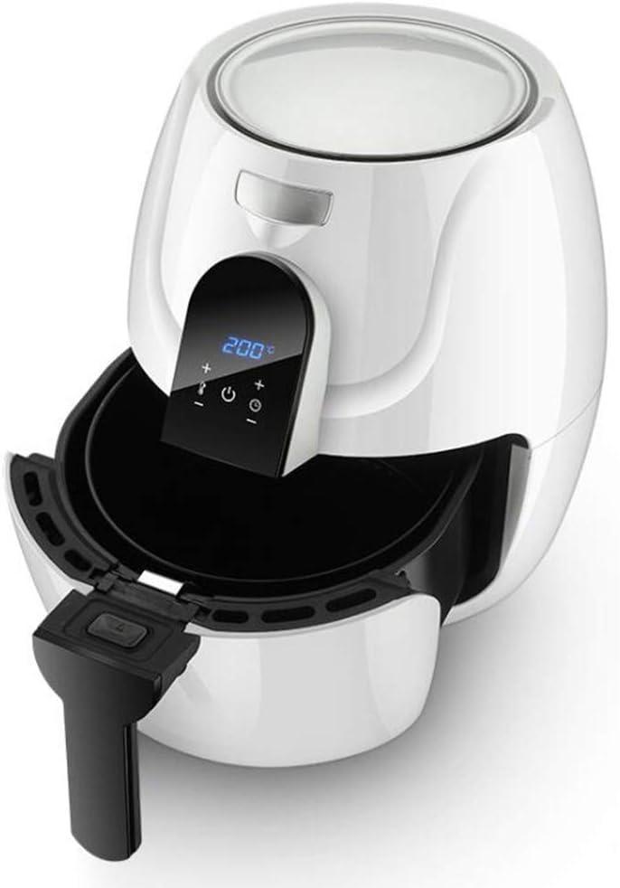 Freidora Aire, Máquina De Papas Fritas Sin Humo, Sin Aceite, LCD para El Hogar, Sartén Baja En Grasa Sin Aceite Saludable: Amazon.es