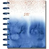 Create365 The Deluxe Classic Happy Planner Indigo Hues, 12 Month January-December 2018