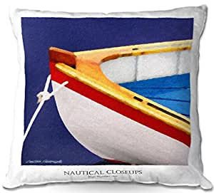 Al aire libre Patio sofá manta almohadas de DiaNoche Designs por Carlos Casamayor–Nautical closeup XIV