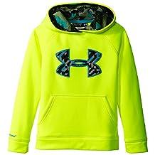 Under Armour Boy's Storm Armour Fleece Big Logo Hoodie Sweatshirt