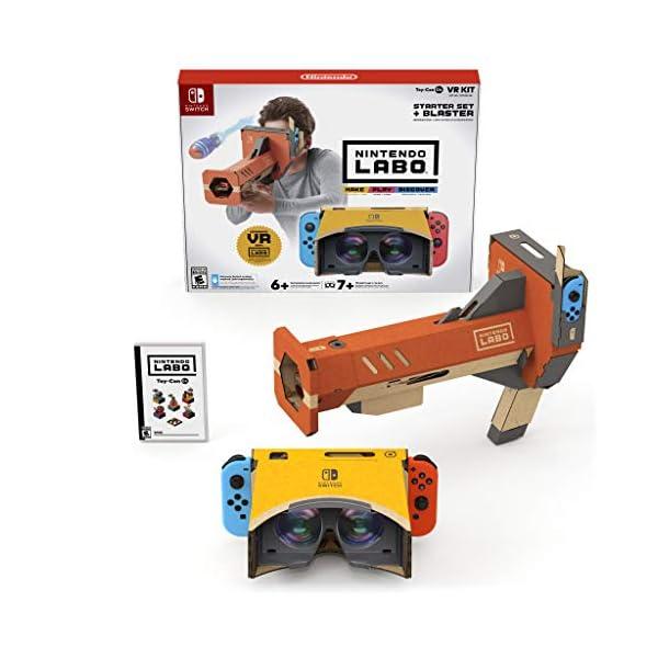 Nintendo Labo Toy-Con 04: VR Kit - Starter Set + Blaster - Switch 2
