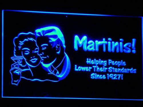 Martinis Bar Beer LED Sign Night Light HELPING PEOPLE NEW j017-b(c)