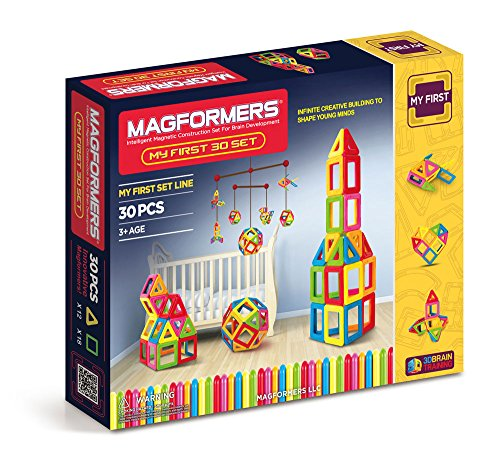 Magformers My First Set (30-pieces) JungleDealsBlog.com