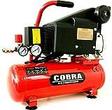 COBRA AIR TOOLS 10L LITER AIR COMPRESSOR 5.7 CFM 2 HP 115PSI 8 BAR...